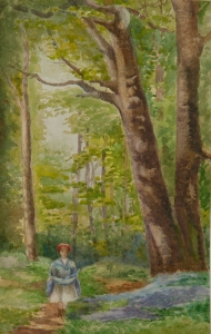 Margaret Nettlefold, Watercolour, Moor Green, Birmingham 1901