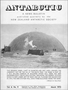 Antarctic, A News Bulletin, New Zealand Antarctic Society, Winterbourne House and Garden, Digging for Dirt