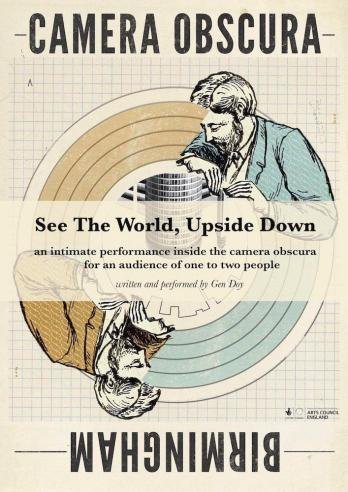 See The World, Upside Down, Camera Obscura, Gen Doy, Winterbourne House and Garden, Digging for Dirt