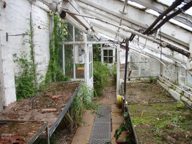 The Lean-to Glasshouse, Winterbourne House and Garden, Digging for Dirt