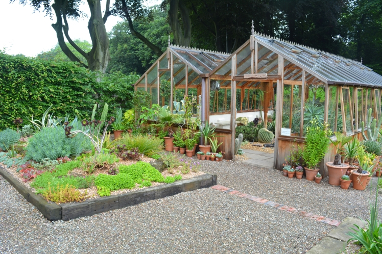 Arid House and Succulent Bed, photograph by Malcolm Mollart, Winterbourne House and Garden, Digging for Dirt